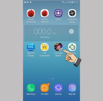 بازی Lien Quan Mobile را در Samsung Galaxy J3 Pro بازی کنید