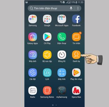 Jak skopiować kontakty do Samsung Galaxy J3 Pro