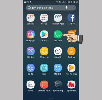 Bloquer les appels sur Samsung Galaxy J3 Pro