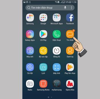 Comment bloquer les messages sur Samsung Galaxy J3 Pro