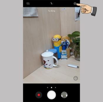 Tecla de cámara flotante en Samsung Galaxy J7 Pro