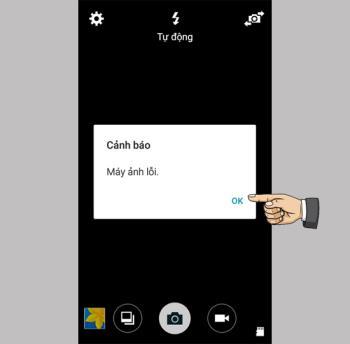 Ошибка камеры на Samsung Galaxy Grand Prime