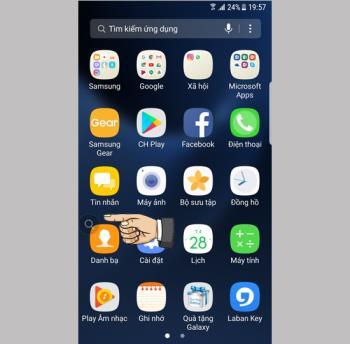 كيفية إيقاف تشغيل رمز العدسة المكبرة على شاشة Samsung