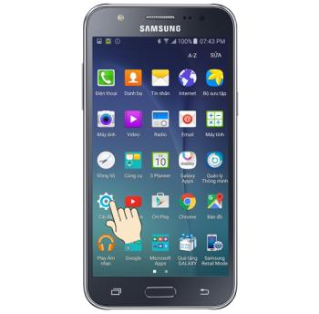 Réglage de la luminosité de lécran du Samsung Galaxy J7