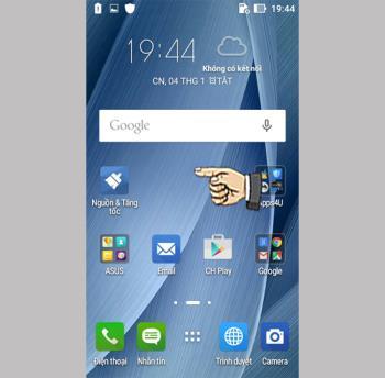 更多應用程序和實用程序 Asus Zenfone Go ZB500KG
