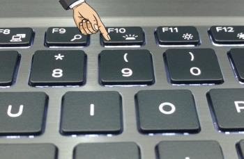Dell Dizüstü Bilgisayar klavye ışığı nasıl açılır