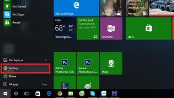Anweisungen zum Herunterladen und Verwenden von Offlinekarten unter Windows 10