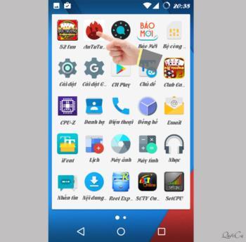 Android cihazda bulunan sensörleri kontrol edin