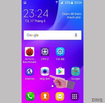 Samsung Galaxy J1 Minideki kamera modları