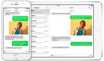 Petunjuk untuk menyembunyikan gambar kontak di Pijat di iOS