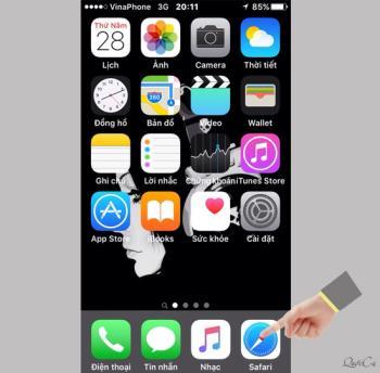 Добавьте закладки на главный экран на iOS