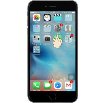 Fabrieksreset iPhone 6s
