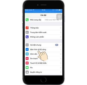 İPhone 6ste yazı tipi nasıl büyütülür