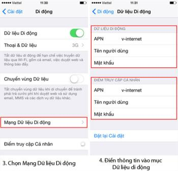 Petunjuk untuk menginstal layanan 3G di iPhone