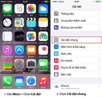 إرشادات لتشغيل وإيقاف ضعاف البصر (VoiceOver) على iPhone
