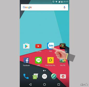 Android पर वीडियो कॉल Zalo कॉल