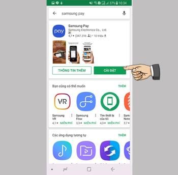 How to install and set up Samsung Pay payment card