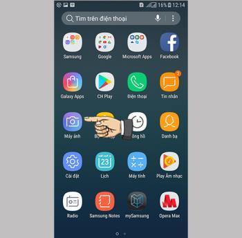 Tome Selfie con gestos en Samsung Galaxy J3 Pro