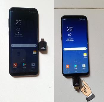 Conectar OTG en Samsung Galaxy S8 Plus