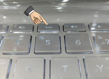 So schalten Sie die Tastaturbeleuchtung des HP Laptops ein
