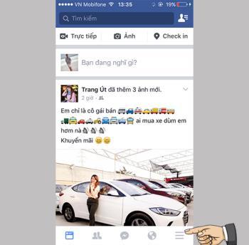 Kelola iklan Facebook di iPhone