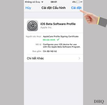 วิธีอัปเกรด iOS 10 เบต้าบน iPhone