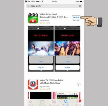 Aplikasi pengunduh video untuk iPhone