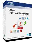 Abex PDF to All Converter