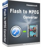 ThunderSoft Flash to MPEG Converter