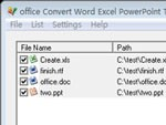 Convert Word Excel PowerPoint office To Text Converter