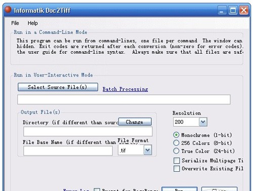 Informatik Doc2Tiff