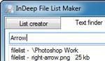 InDeep File List Maker
