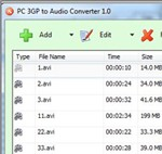 PC 3GP to Audio Converter