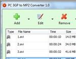PC 3GP to MP2 Converter