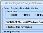 Monitor Registry Changes Software