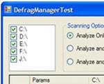 Defrag Manager ActiveX