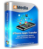 4Media iPhone Apps Transfer