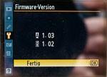 Nikon D700 Firmware