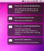 Notify for Mac OS X