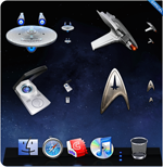 Official Star Trek Icons for Mac