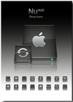 Female Hud Drive Icons 1.0 for Mac OS X