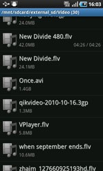 VPlayer for Androi