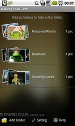 Gallery Lock Lite for Android