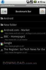 ChromeMarks Lite for Android