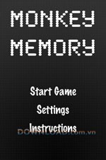 Monkey Memory for iPhone