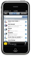 Palringo for the iPhone