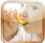 The menu for the baby for iOS