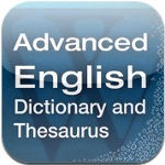 Advanced English Dictionary and Thesaurus for iOS