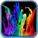 Splish Splash Color Backgrounds for iOS
