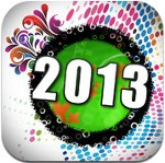 New Year 2013 Wallpapers for iOS